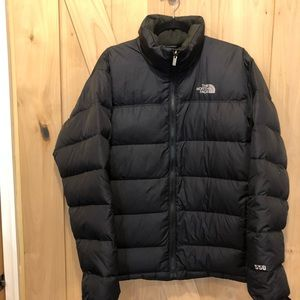 THE NORTH FACE 550 FILL GOOSE PUFFER JACKET Size L